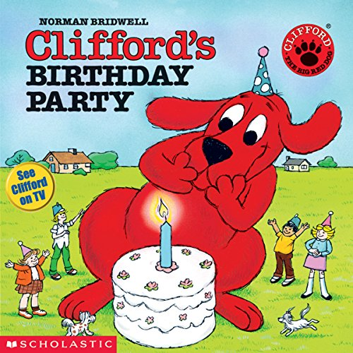 『Clifford's Birthday Party』のカバーアート