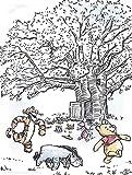 Disney Wandbild von Komar    Winnie Pooh Playground  