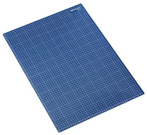 Acme United E-46002 00 Tappetino da Taglio, Formato: A2, Dimensioni 60 x 45 cm, Spessore 3 mm, colore: Blu