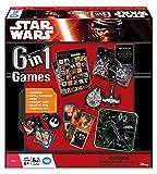 Ravensburger - Juegos de Miniatura Star Wars, 6 en 1, de 2 a 4 Jugadores (22482) (versión en inglés)