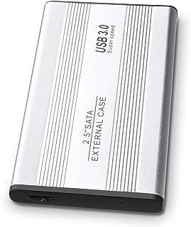Disco duro externo de 1 TB, disco duro externo USB 3.0 para PC, Mac, MacBook plata 1 tb