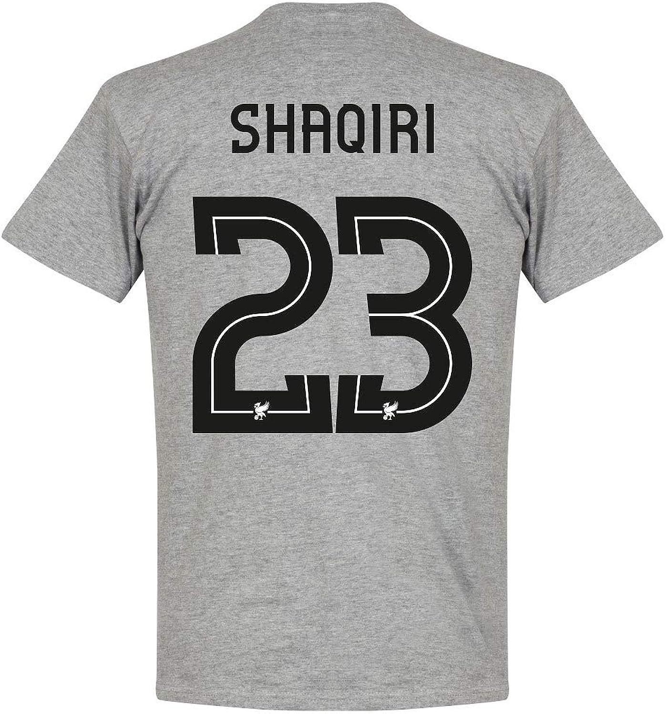 Retake Liverpool Shaqiri 23 Team Tee  Grey