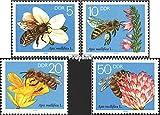 Prophila Collection DDR 3295-3298 (kompl.Ausgabe) 1990 Bienen (Briefmarken für Sammler) Wirbellose Tiere Sonstige