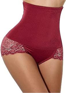 Shaper Shorts for Women High Waist, Lace Translucent, Womens Seamless Butt Lifter Padded Lace Panties