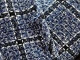 Meterware als Dekostoff- Woll-Tweed-Stoff Herbst und Winter