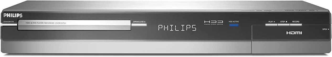 Philips DVDR3575H/37 1080p Upscaling OTA HDTV Hard disk/DVD recorder with Built-In Tuner
