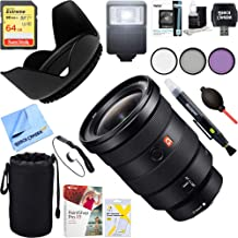 Sony (SEL1635GM FE 16-35mm F2.8 GM Wide-Angle Zoom Lens Full-Frame E-Mount Cameras + 64GB Ultimate Filter & Flash Photography Bundle