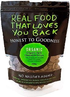 Honest to Goodness Organic Dark Chocolate Drops 70% Cocoa, 1 x 250 g