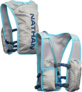 Nathan QuickStart Hydration Pack Running Vest. 4L Storage with 1.5L (1.5 Liter) Bladder Included. for Men and Women OSFM A...