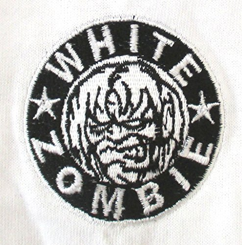 Giant Bean Bag Chairs White Zombie Embroidered Monster White Soccer Jersey Shirt Rob (L) Mississippi