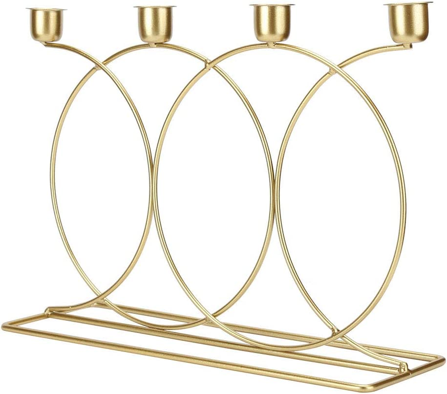 Metal Candle Max 70% OFF Holder Not Rust No Virginia Beach Mall Nordic Paint Cand Texture