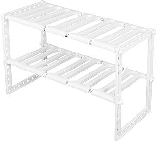 Gootsteenorganizers, gootsteenkast, 38-70 cm organizer voor keukenbadkamer