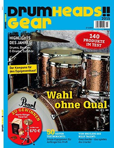 Drumheads!! Gear 2015 Drums Becken E-Drums Schlagzeugzubehör