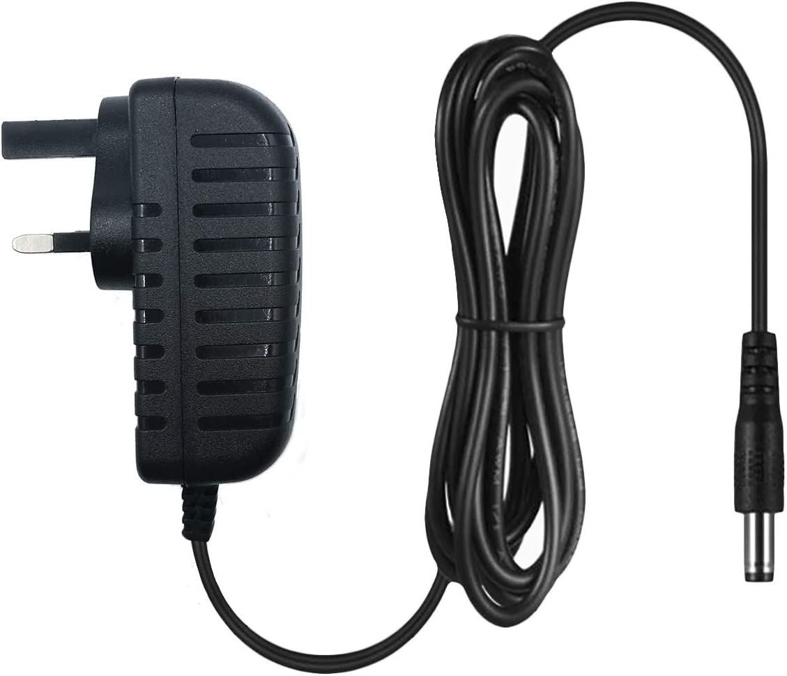 UK plug MyVolts 9V power supply adaptor compatible with Casio CT-395 Keyboard