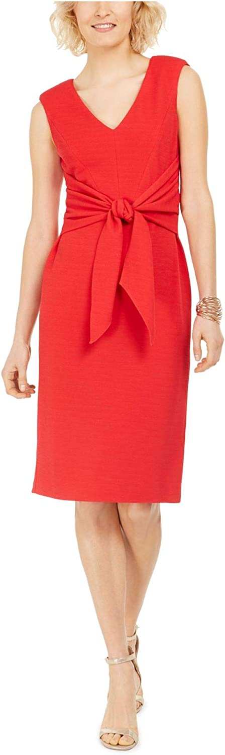 Adrianna OFFicial shop Papell Women's Rio Tie Dress Knit Max 68% OFF Sheath