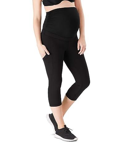 Belly Bandit Power Pocket Capri Leggings (Black) Women