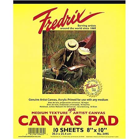 10 Feuilles 380 g//m/² Art Life Block A3 Canvas Pad 100/% Coton