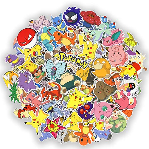 BLOUR Pikachu sticker Pokemon koffer trolley geval sticker Pokemon Computer sticker