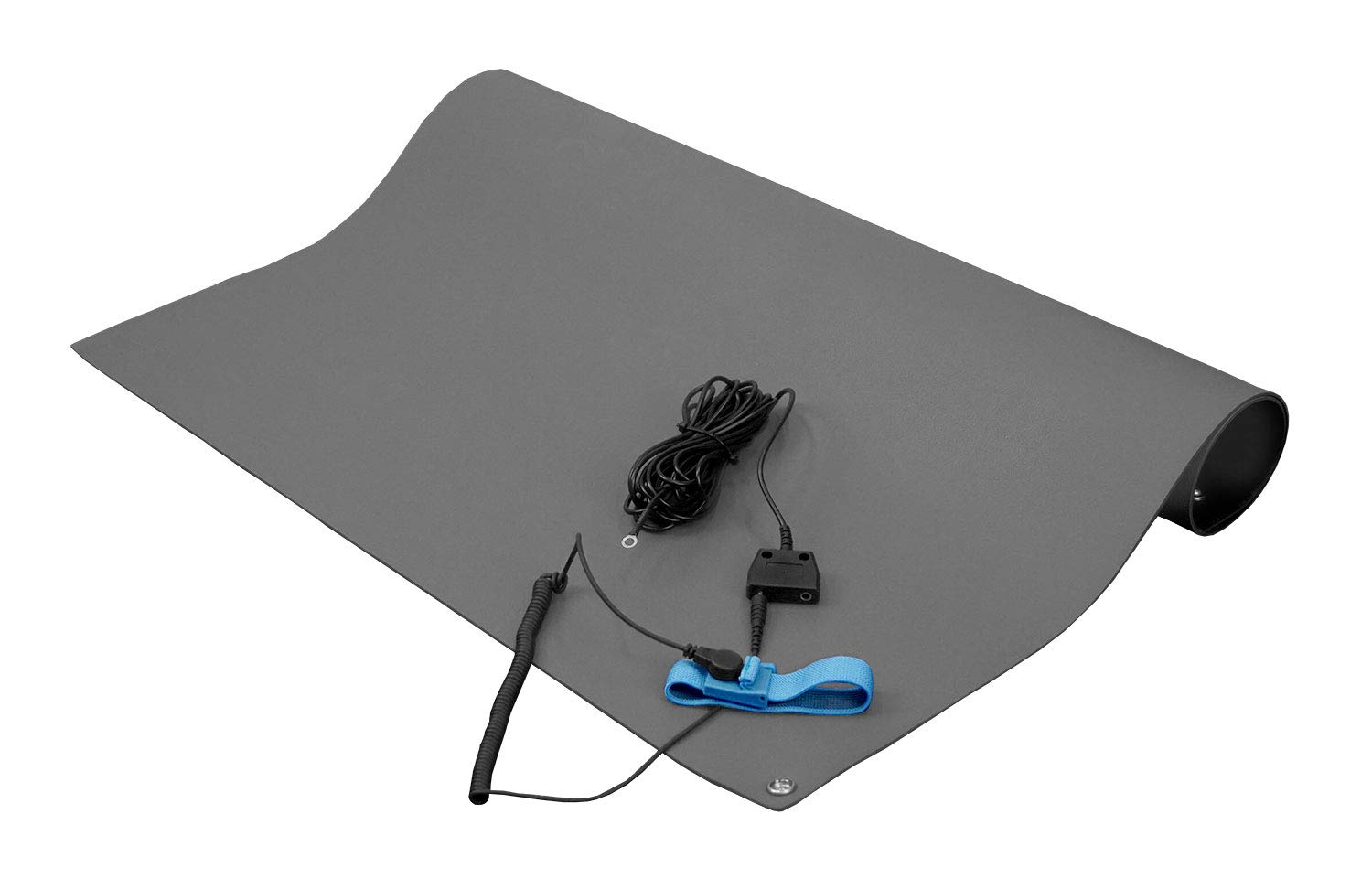StaticTech Textured ESD Bombing new work Anti-Static Mat Includes Table Kit Cheap sale