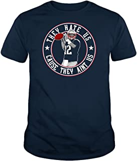 TWO Apparel They Hate Us New England Fans Shirt