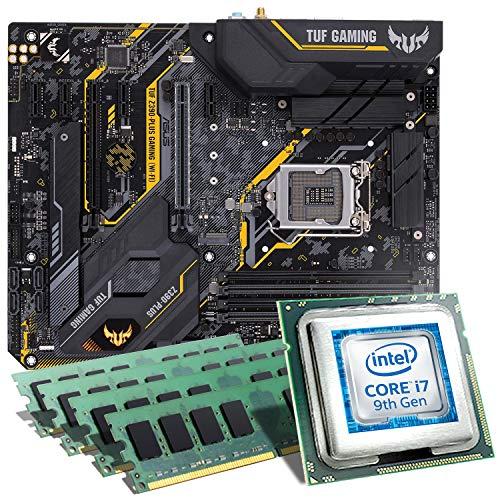 Intel Core i7-9700K / ASUS TUF Z390-PLUS Gaming WiFi Mainboard Bundle / 32GB | CSL PC Aufrüstkit | Intel Core i7-9700K 8X 3600 MHz, 32GB DDR4-RAM, Intel UHD Graphics 630, GigLAN, 7.1 Sound, USB 3.1