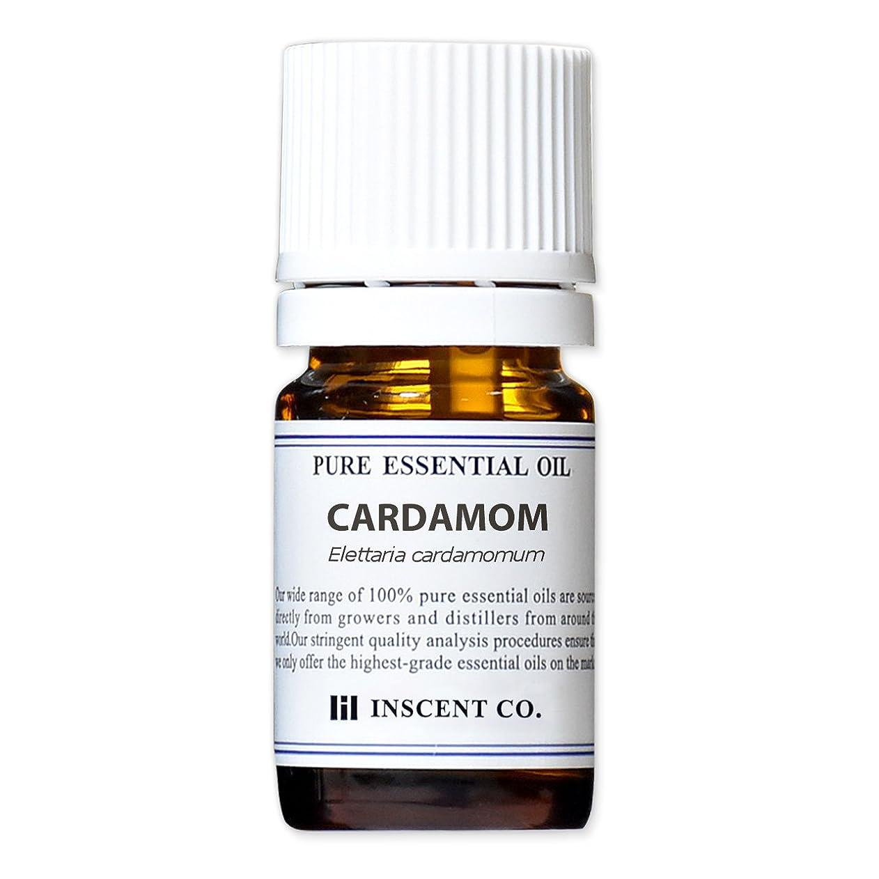 艶作詞家アライメントカルダモン 5ml インセント アロマオイル AEAJ 表示基準適合認定精油