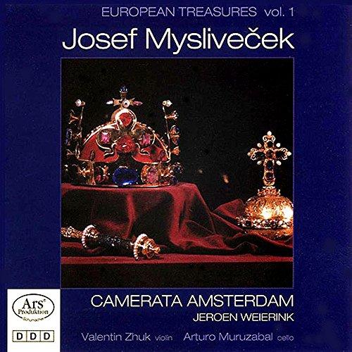 European treasures (volume 1) josef myslivecek