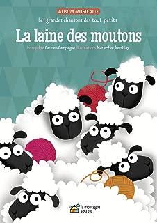 La laine des moutons: Les grandes chansons des tout-petits (French Edition)