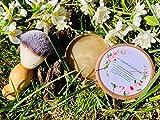 Jabón de afeitado sólido + Brocha (100% natural y ecológico)