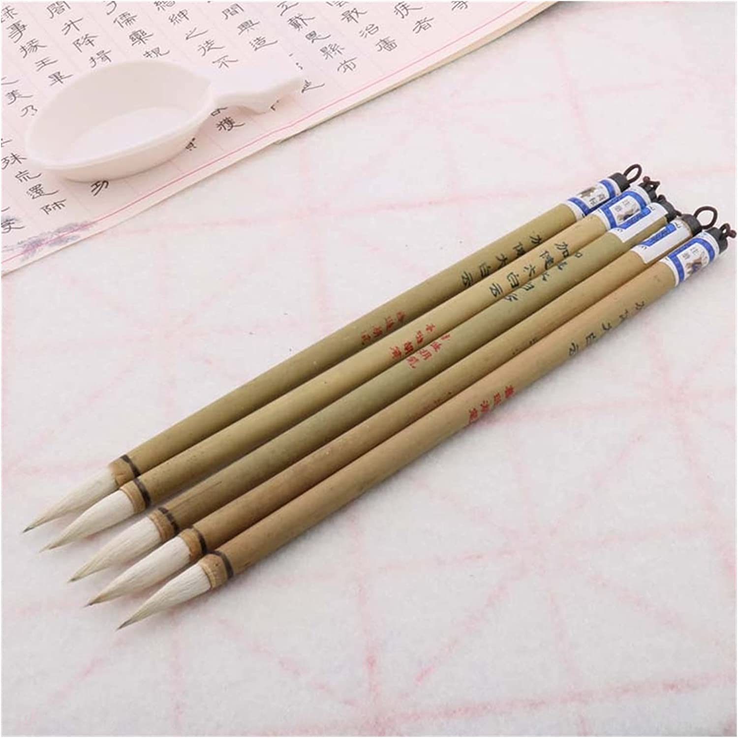 ZCNAN Chinese Calligraphy Woolen Purple Brush Hair Set Sale special price Su Rabbit Gifts
