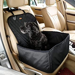 Huanxidp New Waterproof Dog Car Bed House Pet Foldable Travel Basket Nylon Pet Sleeping Bag for Protect Car Seat Cover fro...