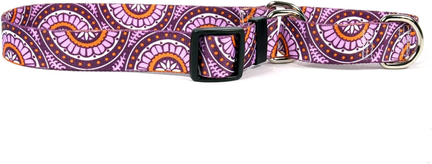 Radiance Purple Martingale Control Dog Collar  Size Medium 20  Long  Made In The USA