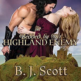 Bedded by Her Highland Enemy audiobook cover art