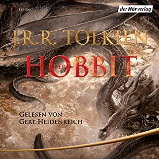 Der Hobbit audiobook cover art