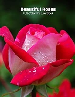 Beautiful Roses Full-Color Picture Book: Rose Flower Picture Book for Children, Seniors and Alzheimer's Patients -Flowers ...