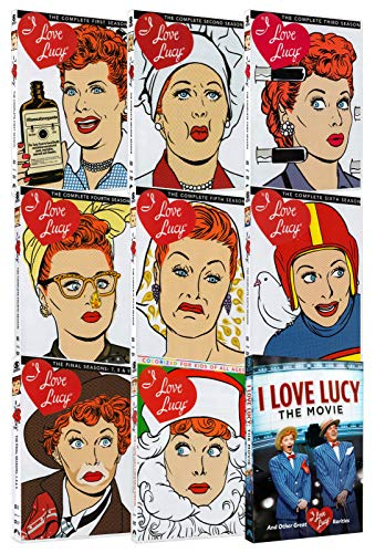 I Love Lucy: The Complete Season 1-9 / The I Love Lucy Christmas Special / I Love Lucy: The Movie