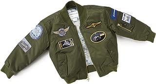 Boeing - Green Nylon Flight Jacket - Youth