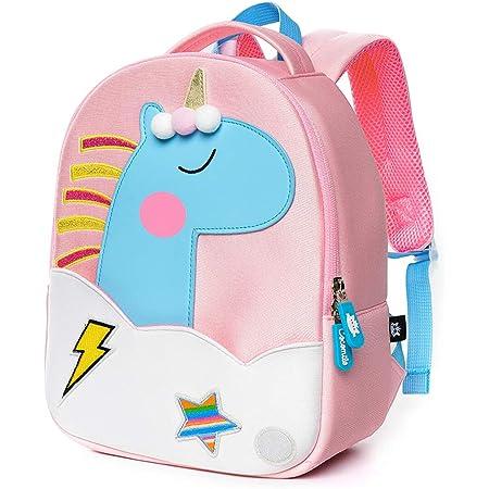 Personnalisé Enfants Sac à dos tout nom Unicorn Enfant Fille Retour à l/'école Sac 26