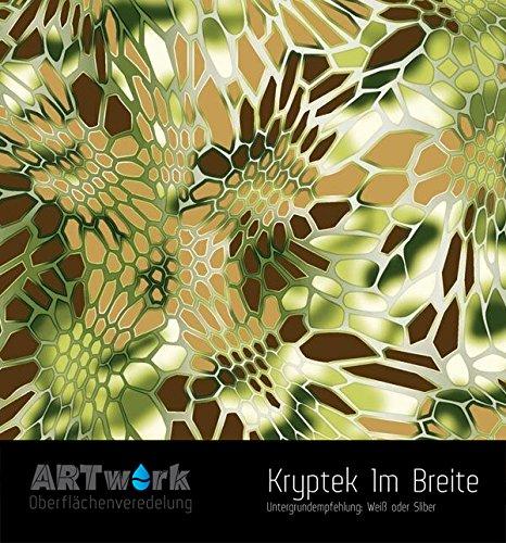 Wassertransferdruck exklusiv Design Folie ARTwork Kryptek 1m Breite