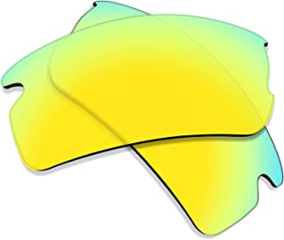 Flugger Replacement Lenses for Oakley Flak 2.0 Sunglass - Multiple Options