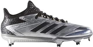 adidas Adizero Afterburner 4 Faded Cleat Men's Baseball 10 Gold Metallic-Core Black-Grey
