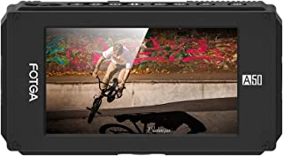 Irfora A50T 5 Inch FHD IPS Video On-Camera Field Monitor 1920 * 1080 Touchscreen 510cd/m2 HDMI 4K Input/Output Dual NP-F B...