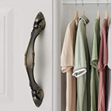 Kast Handvat Europese stijl Amber Gold Plus Zilver Handvat Kast Garderobe Deur Handvatten Home Improvement Blauw Brons Har...