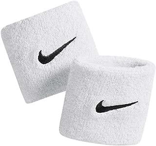 Nike Swoosh Wristbands (White)