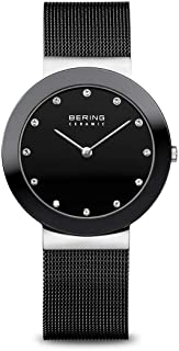BERING Unisex Adult Analogue Quartz Watch with Stainless Steel Strap 11435-102