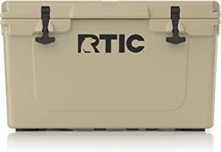 RTIC Ice Chest Hard Cooler, Heavy Duty Rubber Latches, 3 Inch Insulated Walls, 45 Quart