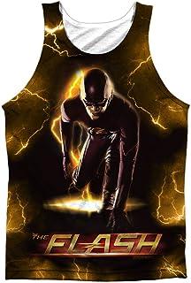 Flash Bolt - Camiseta sin mangas para hombre, color blanco
