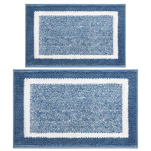 Bathroom Rug Mat, Ultra Soft and Water Absorbent Bath Rug, Bath Carpet, Machine Wash/Dry, for Tub, Shower, and Bath Room