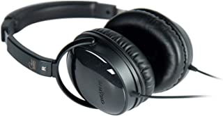 Creative Aurvana Live! SE – Over-Ear Headphones with Padded Headband and Leatherette Earpads, Expert-Tuned Foster Drivers,...