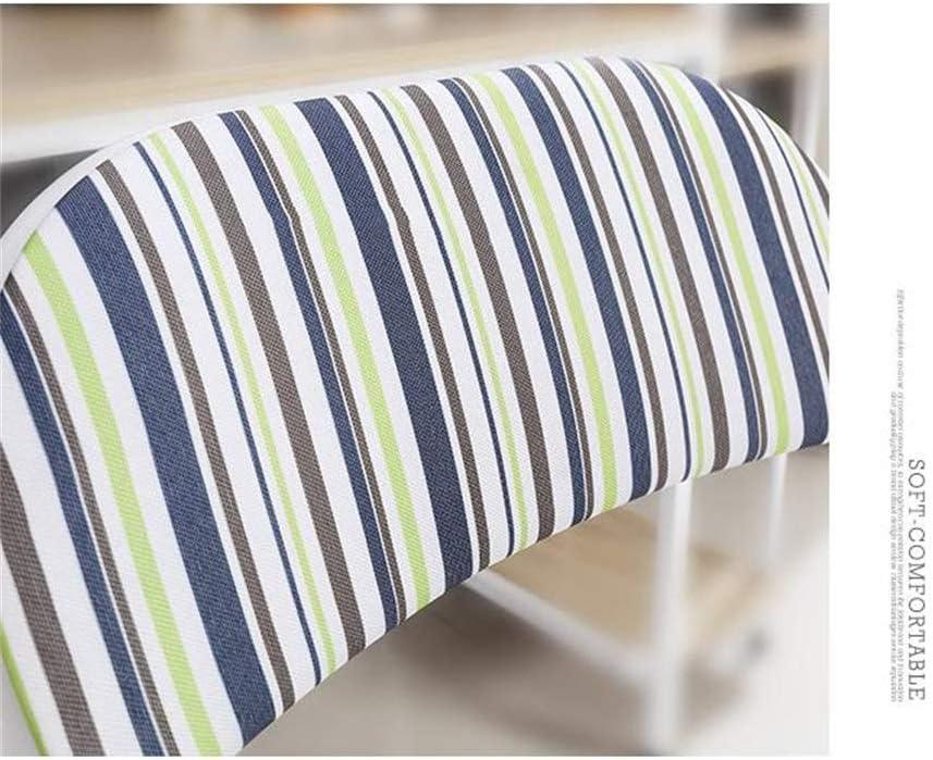 Chaise de bureau pliante, chaise de réunion pliante de dos d'ordinateur de mode, chaise pliante moderne simple de salle à manger (Couleur : Bleu) Bleu